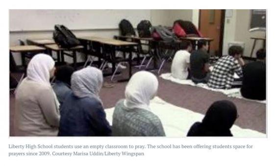 Muslim Prayer Room in Frisco ISD??